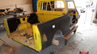Veterang rden mascot pickup for Garage ford bruges